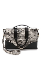 Jason Wu Hanne Messenger Bag Black White