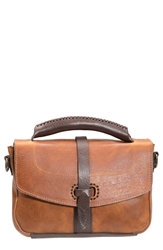 Will Leather Goods 'Athena' Leather Crossbody Bag Tan