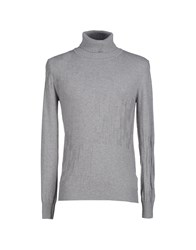 Tonello Knitwear Turtlenecks Men Grey