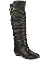 Material Girl Cresta Tall Slouchy Boots Only At Macy's Women's Shoes Black