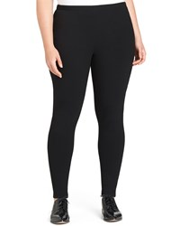 Lafayette 148 New York Punto Milano Leggings Black Women's