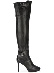 Jimmy Choo 'Derby 100' Boots Black