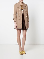 Gucci Trench Coat Beige
