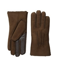 Ugg Sheepskin Smart Gloves Chocolate Extreme Cold Weather Gloves Brown