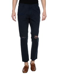 Roundel London Casual Pants Dark Blue