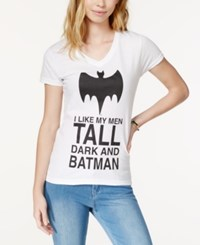 Bioworld Batman Graphic T Shirt White