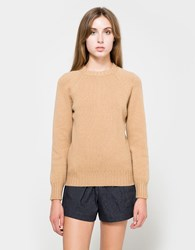 A.P.C. Pull Edimbourg Sweater Camel