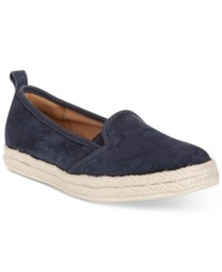 Clarks Collection Women's Azela Theoni Flats Women's Shoes Navy Suede