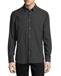 Wesc Newton Relaxed Printed Shirt Black