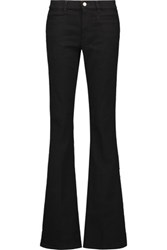 Mih Jeans M.I.H Marrakesh Mid Rise Flared Black