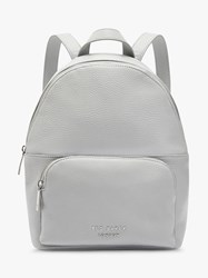 Ted Baker Paloya Leather Backpack Light Grey