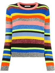 Chinti And Parker Striped Knit Jumper 60