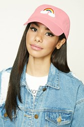 Forever 21 Rainbow Patch Graphic Cap