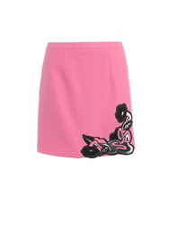 Christopher Kane Art Nouveau Embellished Mini Skirt