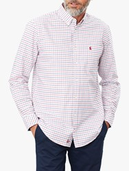 Joules Welford Check Shirt White Multi