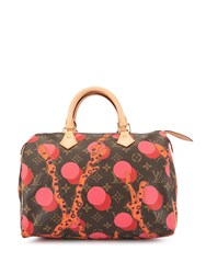 Louis Vuitton Vintage Speedy 30 Handbag Multicolour