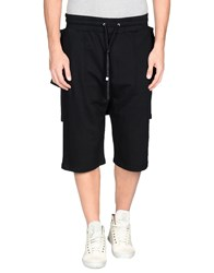 D.Gnak By Kang.D Trousers 3 4 Length Trousers Men Black