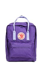 Fjall Raven Fjallraven Kanken Backpack Purple Violet