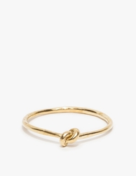 Drift Riot Knot Bangle Brass