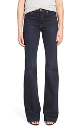 Women's 7 For All Mankind 'Ginger' Creased Flare Jeans Dark Madrid Night