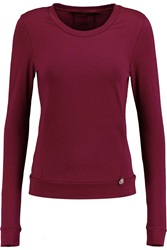 Karl Lagerfeld Levi Stretch Cotton Blend Top
