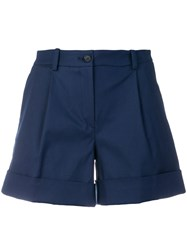 P.A.R.O.S.H. Belted Shorts Blue