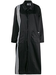 Adidas Stripe Trim Coat Black