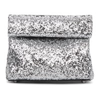 Simon Miller Silver Glitter Small Lunch Bag 20 Clutch