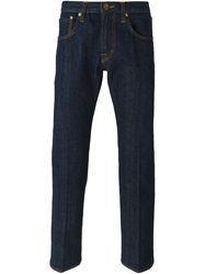People People 'John' Slim Fit Jeans Blue