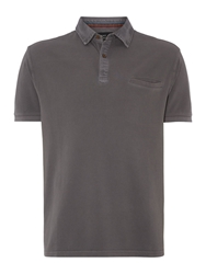 Army And Navy Armyand Navy North Pique Polo Shirt Charcoal