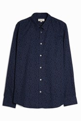 Paul And Joe Tonramage Shirt Navy
