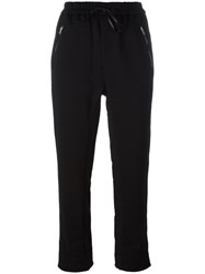 3.1 Phillip Lim Cropped Track Pants Black