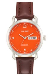 Jack Spade 'Classic Military Stillwell' Round Watch 38Mm