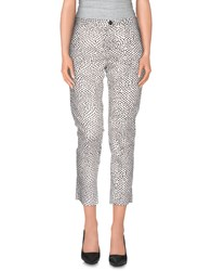 Woolrich Trousers 3 4 Length Trousers Women White