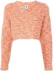 M Missoni Cropped Chunky Knit Jumper 60