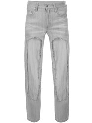 Haculla Cut Out Jeans Grey