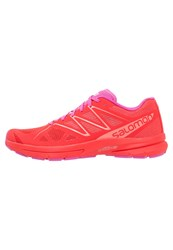 Salomon Sonic Pro 2 Neutral Running Shoes Poppy Red Rose Violet Living Coral