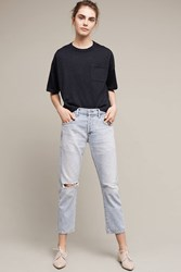 Anthropologie Citizens Of Humanity Emerson High Rise Boyfriend Jeans Denim Light