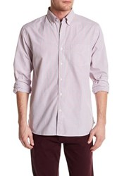 Bonobos Gramercy Square Standard Fit Shirt Red