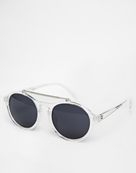 A. J. Morgan Aj Morgan Aviator Sunglasses Clear