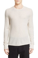 Rag And Bone Men's 'Giles' Lightweight Merino Wool Pullover Cream