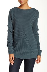 Olive And Oak Ribbed Sweater Green