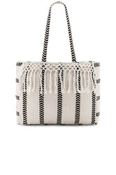 Amuse Society Salina Beach Tote White