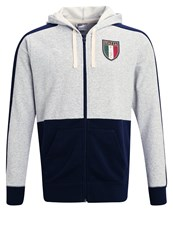 Puma Figc Tracksuit Top Light Gray Heather Peacoat Grey