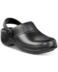 Easy Street Shoes Works By Time Clogs Women's Black