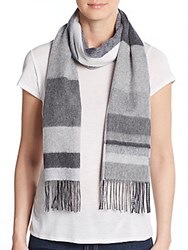 Saks Fifth Avenue Cashmere Scarf Grey