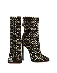 Alaia Ankle Boots Black