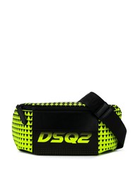 Dsquared2 Bionic Sport Dsq2 Race Belt Bag Green