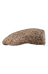 Men's Stetson 'Modesto' Driving Cap Brown Chocolate