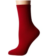 Richer Poorer Yucca Red Women's Crew Cut Socks Shoes